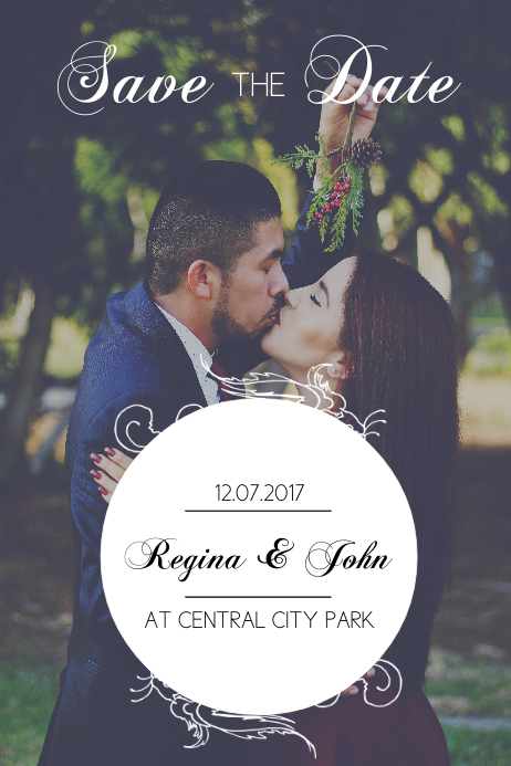 free save the date flyer template postermywall
