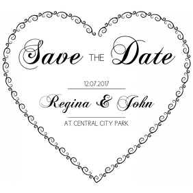 Free Save the Date Instagram Post Template