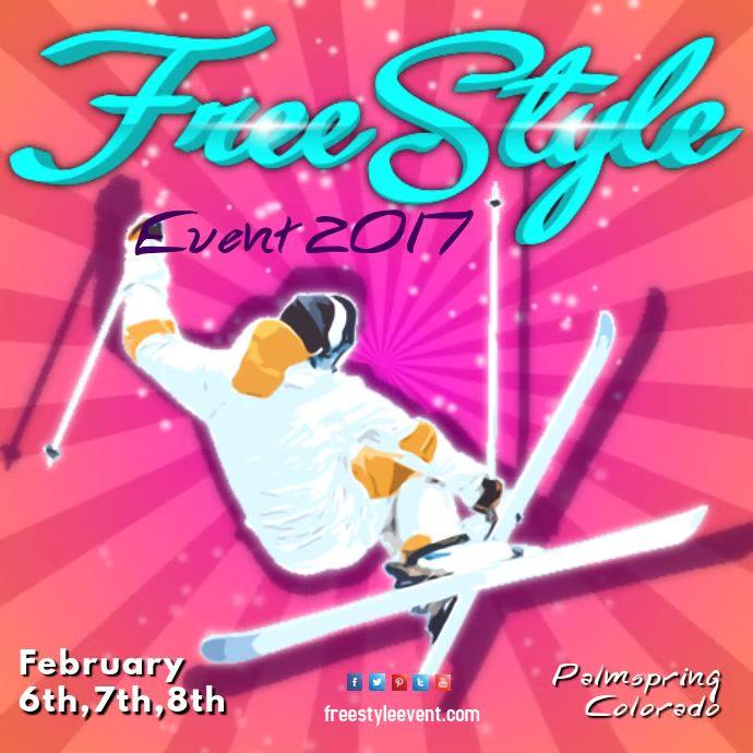 Free Style Ski Event Video