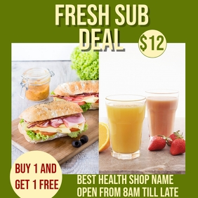 free sub deal