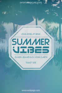 customizable design templates for free summer party flyer template