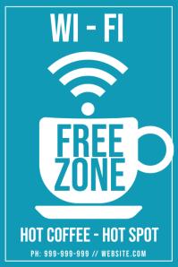 Free WiFi Poster