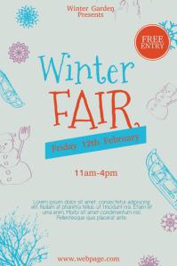 Free Winter Fair Flyer Template