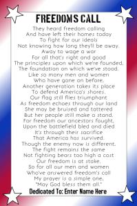 Freedom's Call
