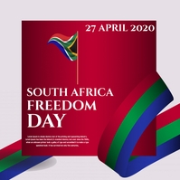 freedom day Square (1:1) template
