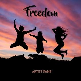 Freeedomm Album Art template