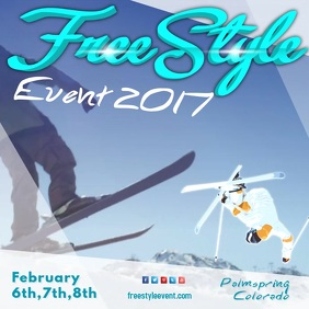 Freestyle Ski Event Video Template