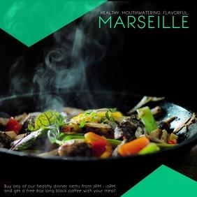 French Restaurant Instagram Video template