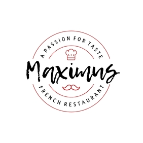 French Restaurant Logo template