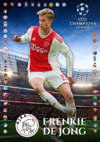 Frenkie de Jong Ajax Poster