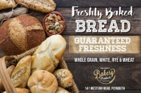 Fresh Bread Bakery Poster Template