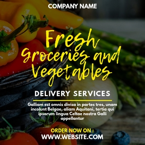 fresh groceries and vegetables delivery