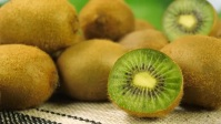 Fresh Kiwi fruit video YouTube Thumbnail template