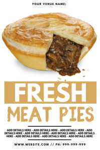Fresh Meat Pies Poster