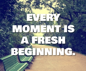 FRESH MOMENT QUOTE TEMPLATE