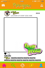 Fresh Prince Party Prop Frame