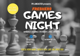 Freshers Games Night