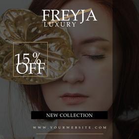 Freyja Fashion Beauty Instagram Promo Banner
