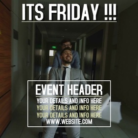 FRIDAY EVENT AD DIGITAL SOCIAL MEDIA
