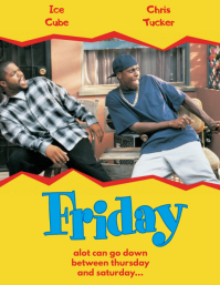FRIDAY MOVIE COVER MAKER