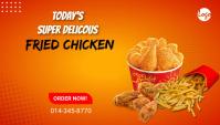Fried Chicken Blog header post template