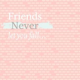 Friends, valentines