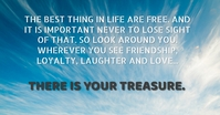 FRIENDSHIP AND LOVE QUOTE TEMPLATE Facebook Ad