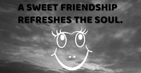 FRIENDSHIP AND SOUL QUOTE TEMPLATE Facebook Ad