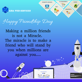 Friendship Day Business Flyer