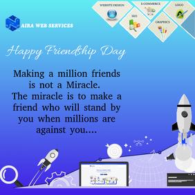 Friendship Day Business Flyer