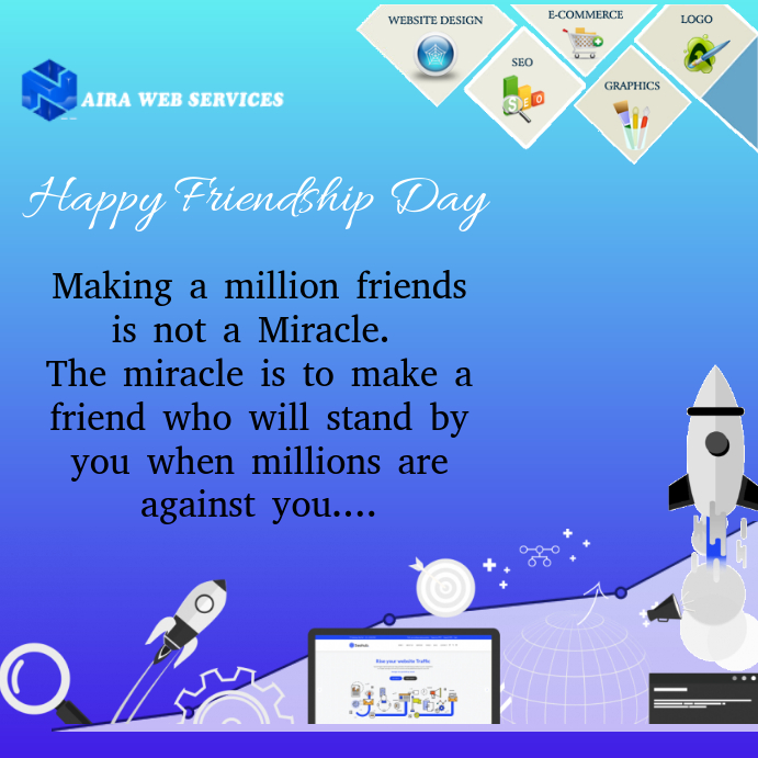 Friendship Day Business Flyer Template PosterMyWall