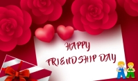 Friendship Day Tag template