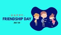 Friendship Day Encabezado de blog template