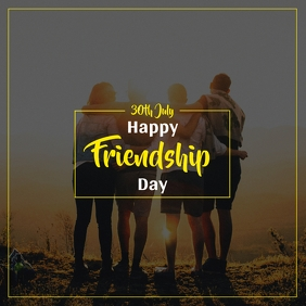 Friendship Day Instagram Post4 template
