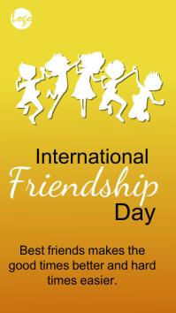 Friendship Day Instagram story post Indaba yaku-Instagram template