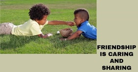 FRIENDSHIP SHARING TEMPLATE Publicité Facebook