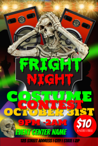 Fright Night Costime Party