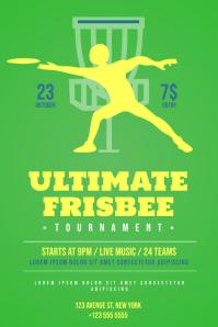 Frisbee Flyer Template