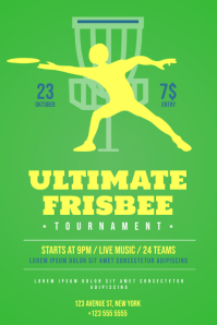 Frisbee Flyer Template