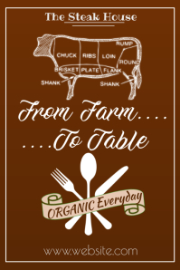 From Farm to Table Poster