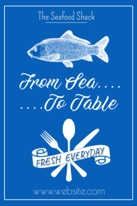 From Sea to Table Poster