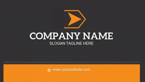 FRONT OF BUSINESS CARD LOGO TEMPLATE