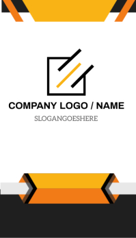 FRONT OF BUSINESS CARD Template