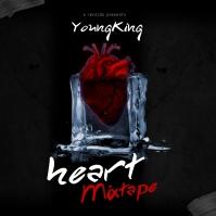 Frozen Heart - Album Cover Templates