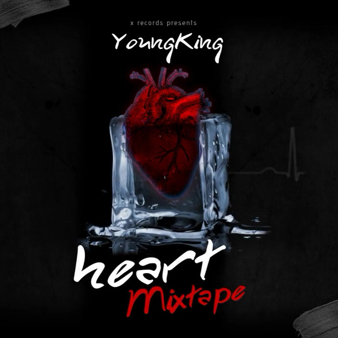 Frozen Heart animated - Album Cover Templates Ikhava ye-Albhamu