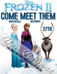 FROZEN TWO 2 character appearance