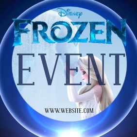 FROZEN TWO 2 character appearance Logo template