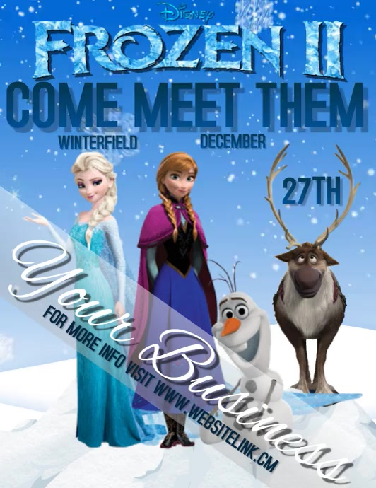 FROZEN TWO 2 character appearance DIGITAL