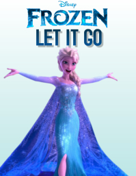FROZEN TWO 2 FLYER POSTER TEMPLATE