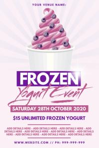 Frozen Yogurt Poster